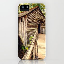Cades Cove Grist Mill iPhone Case