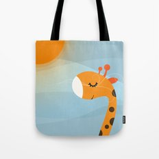 Orange and Wind Tote Bag