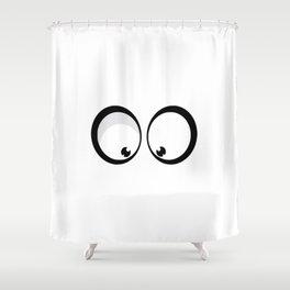 Googly Eyes Shower Curtain
