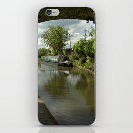 Barge thro the bridge iPhone Skin