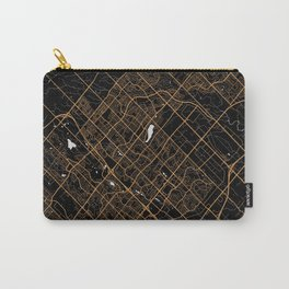 Brampton | Ontario | Canada - Minimalist City Map Carry-All Pouch