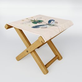 Moon insects Folding Stool