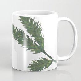 Watercolor Pine Sprig Coffee Mug