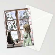 Window dreaming. Stationery Cards