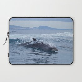Dolphin: love for waves, love for life Laptop Sleeve
