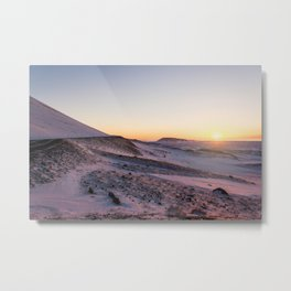 Snaefellsnes- Misty Morning Metal Print
