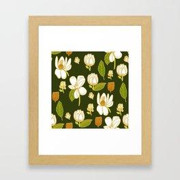 Sweet Magnolia Framed Art Print