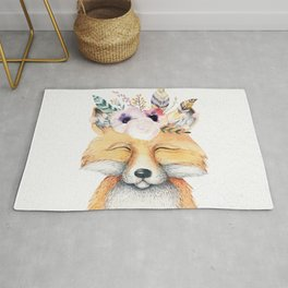 Forest Fox by Nature Magick Rug