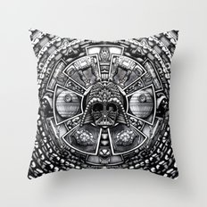 Aztec Darth Space lord iPhone 4 4s 5 5c 6, pillow case, mugs and tshirt Throw Pillow