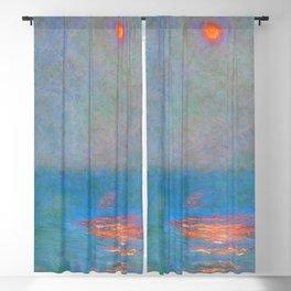 "Claude Monet ""Waterloo Bridge - Effect of Sunlight in the Fog"" (1903) Blackout Curtain"