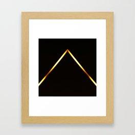Pyramid of Light Framed Art Print