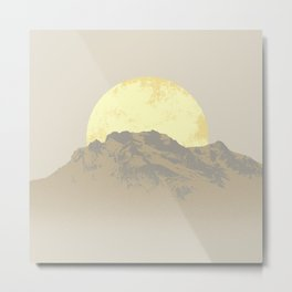 Big Moon Metal Print