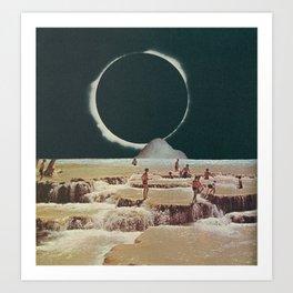 Eclipsummer Art Print