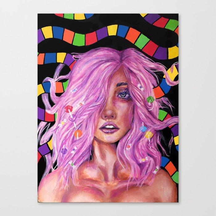 Princess Lollipop Canvas Print