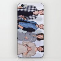 1d iPhone & iPod Skins featuring New 1D by kikabarros