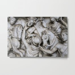 Battle scene, Vatican city Metal Print