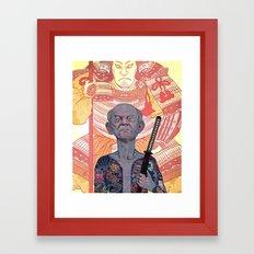 Oyabun Framed Art Print