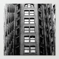 building Canvas Prints featuring Building by Conor O'Mara
