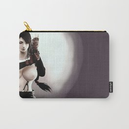 Sexy Final Fantasy - Tifa Cartoon Nude erotic, topless japanese rpg game character, kinky CGI Carry-All Pouch