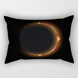 Burger Eclipse Rectangular Pillow