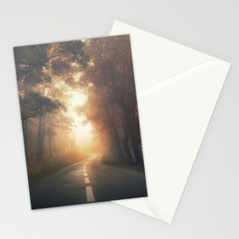 Into the Warmth Stationery Cards