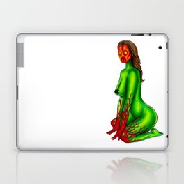 Demon Alien Chick Laptop & iPad Skin