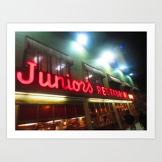 Juniors NYC Art Print
