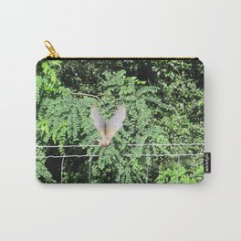 Mourning Dove on Takeoff Carry-All Pouch