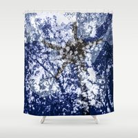 ed sheeran Shower Curtains featuring ShangriLa{ed}  by Luminashity