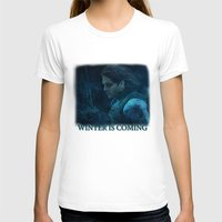 bucky barnes T-shirts featuring The Winter Soldier (Bucky Barnes) by thecannibalfactory
