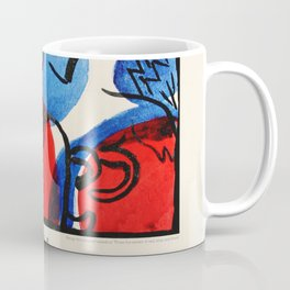 Kandinsky Exhibition poster 1979 Coffee Mug