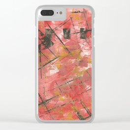 Uh Huh1 Clear iPhone Case