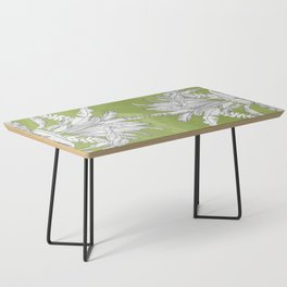 Banana Leaves Illustration - Green Coffee Table