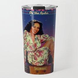 on the radio pillow Travel Mug