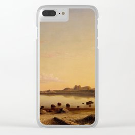 Stage Fort across Gloucester Harbor Clear iPhone Case