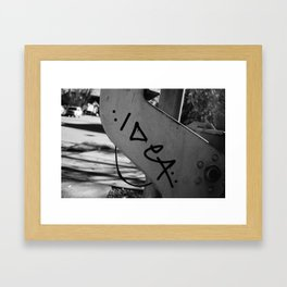 Idea Framed Art Print