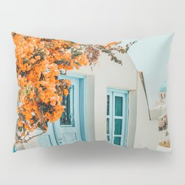 Greece Airbnb #photography #greece #travel Pillow Sham