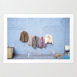 Fashion Past Art Print