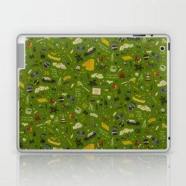 Moonrise Kingdom Plot Pattern Laptop & iPad Skin