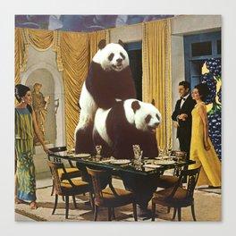 The Problem with Pandas Canvas Print