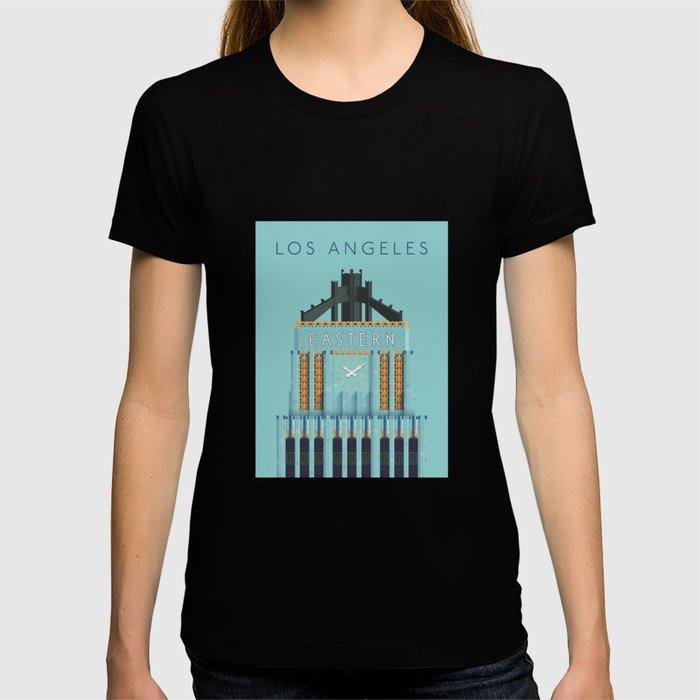 Eastern Columbia Building Los Angeles Art Deco T-shirt