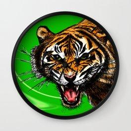 Tiger_014 Wall Clock