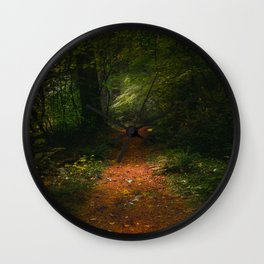 Mountain Trail Wall Clock