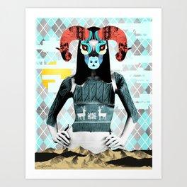 Balance And Overthrow Art Print