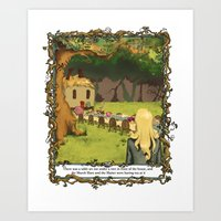 The March Hare and the Hatter Art Print