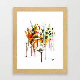 Encres Framed Art Print