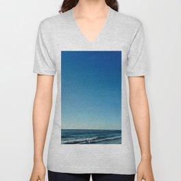 Oceanic landscape: Lacanau  2 Unisex V-Neck