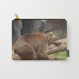 Teddy Bear At Rest Carry-All Pouch