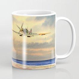 Supermarine Spitfire MK IX Aircraft Coffee Mug