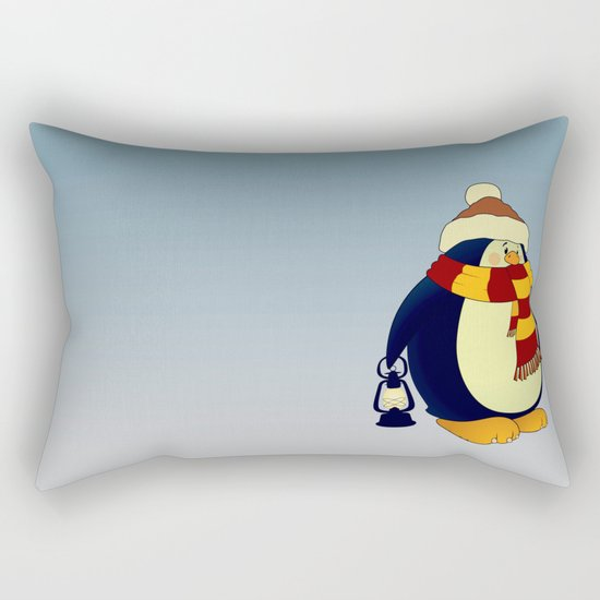 Penguin.Now in Color! Rectangular Pillow